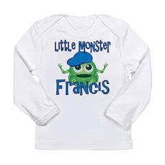 Little Monster Francis Long Sleeve Infant T-Shirt