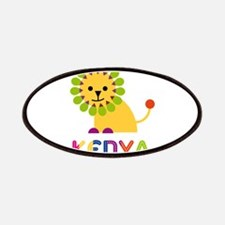 Kenya the Lion Patches