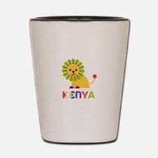 Kenya the Lion Shot Glass