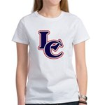 LC Logo in Navy and Red Women's T-Shirt
