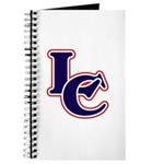 LC Logo in Navy and Red Journal