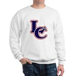 LC Logo in Navy and Red Sweatshirt