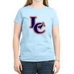LC Logo in Navy and Red Women's Light T-Shirt