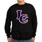 LC Logo in Navy and Red Sweatshirt (dark)