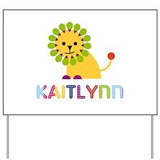 Kaitlynn the Lion Yard Sign