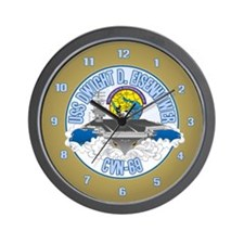 CVN-69 Persian Gulf Wall Clock