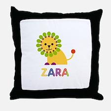 Zara the Lion Throw Pillow