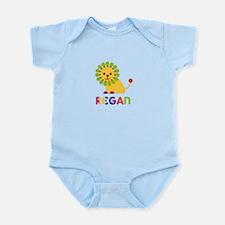 Regan the Lion Infant Bodysuit
