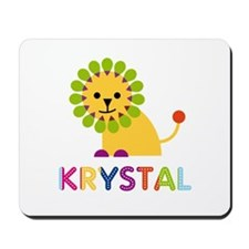 Krystal the Lion Mousepad