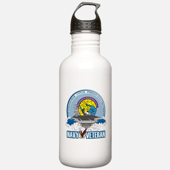 CVN-69 Persian Gulf Water Bottle