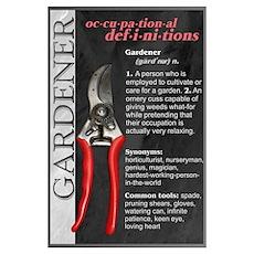 Gardener Poster