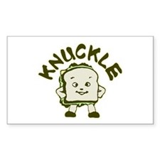 Funny Knuckle Sandwich Decal