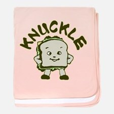 Funny Knuckle Sandwich baby blanket