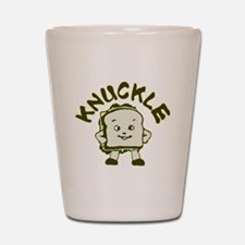 Funny Knuckle Sandwich Shot Glass
