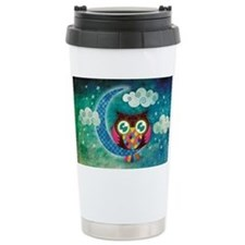 My Crescent Owl Travel Mug