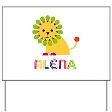 Alena the Lion Yard Sign
