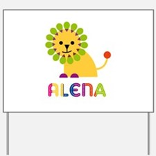 Alena the Lion Yard Sign