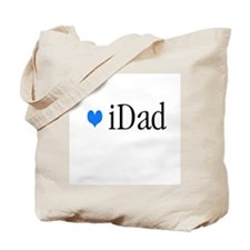 iDad Blue Father & Baby Tote Bag