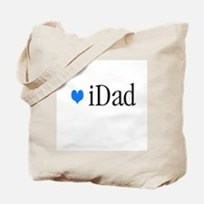 iDad Blue Father & Baby Tote Bag