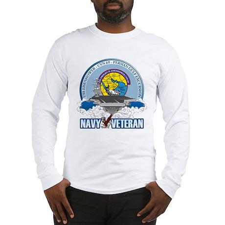 CVN-69 Persian Gulf Long Sleeve T-Shirt