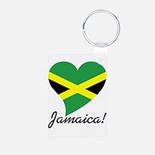 Heart Jamaica (World) Keychains