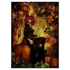 Pumpkin Queen Poster