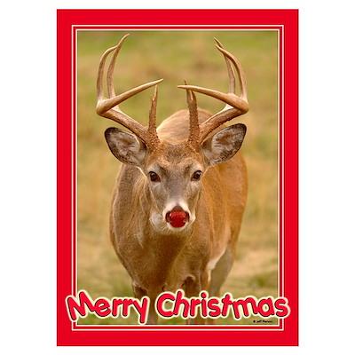 Christmas Buck Poster