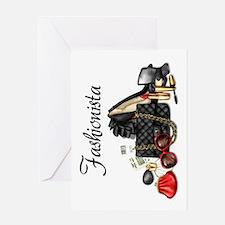 Fashionista Greeting Card