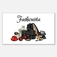 Fashionista Decal