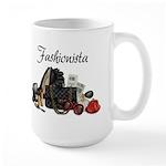 Fashionista Large Mug