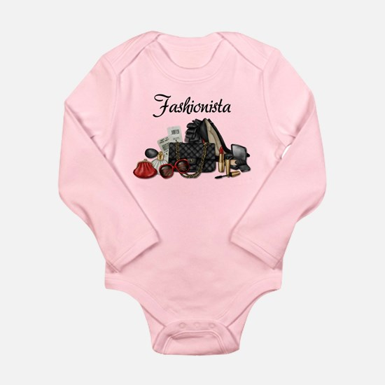 Fashionista Long Sleeve Infant Bodysuit