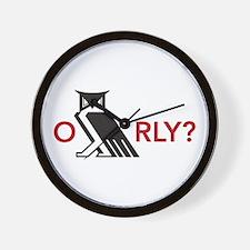 O RLY? ... Armageddon Wall Clock