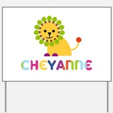 Cheyanne the Lion Yard Sign