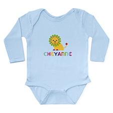 Cheyanne the Lion Long Sleeve Infant Bodysuit