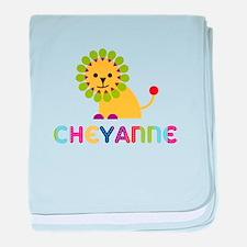 Cheyanne the Lion baby blanket
