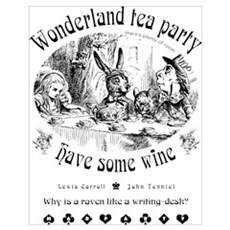 Wonderland tea party Poster