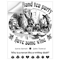 Wonderland tea party Wall Decal