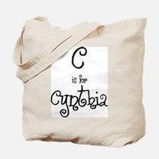 C Is For Cynthia Tote Bag