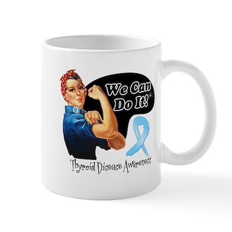 Thyroid Disease We Can Do It Mug