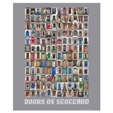 Doors of Scotland Framed Print