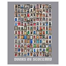 Doors of Scotland Poster