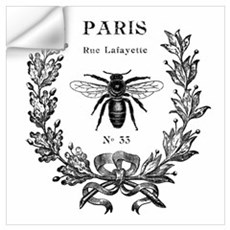 PARIS Bee Wall Decal