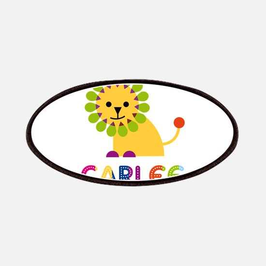 Carlee the Lion Patches
