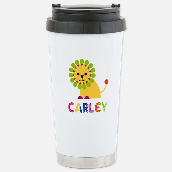Carley the Lion Stainless Steel Travel Mug