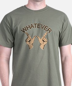 Funny Whatever Attitude T-Shirt