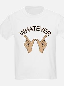 Funny Whatever Attitude T-Shirt