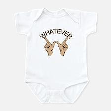 Funny Whatever Attitude Infant Bodysuit