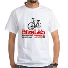 Cute White bicycle Shirt