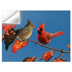 Cardinal pair Wall Decal
