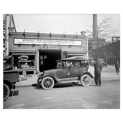 North East Auto Exchange, 1926 Poster